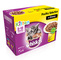 Whiskas® Kitten Product Range